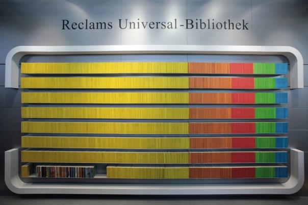 Reclam Universalbibliothekwand