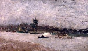Gezicht op Nijmegen (1886)