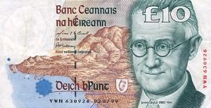 Beeltenis van James Joyce