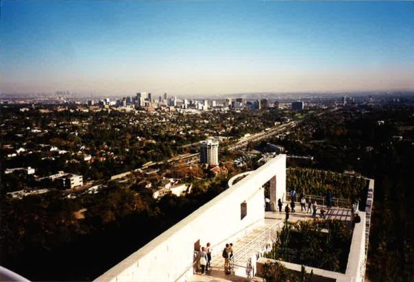 Zicht op L.A. vanaf J. Paul Getty Museum