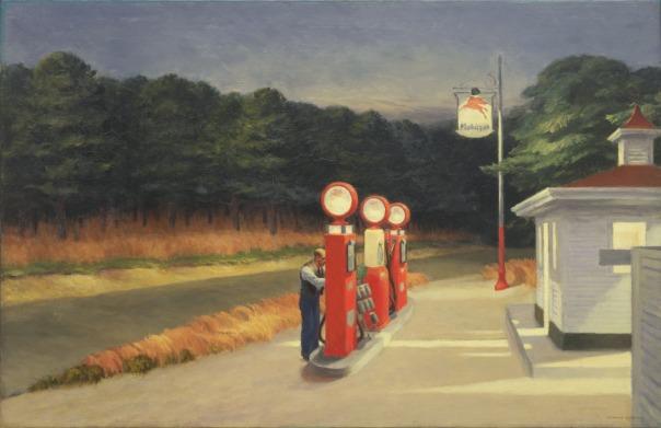 'Gas' (Edward Hopper)