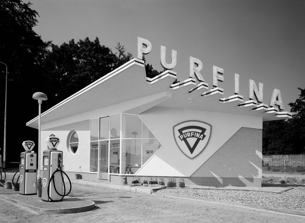 Purfina-tankstation Arnhem