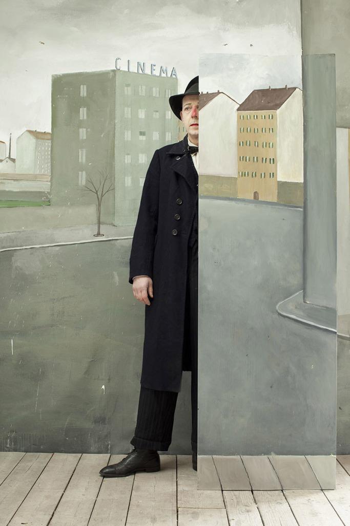 Paolo Ventura 'Vanishing man'