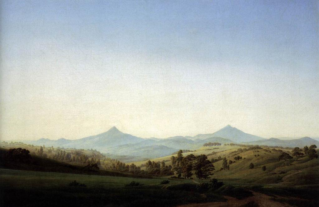Caspar_David_Friedrich_-_Böhmische_Landschaft_mit_dem_Milleschauer_-_WGA08241